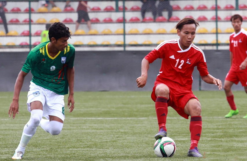 Bangladesh U23 lose 1-0 to Nepal and bad luck