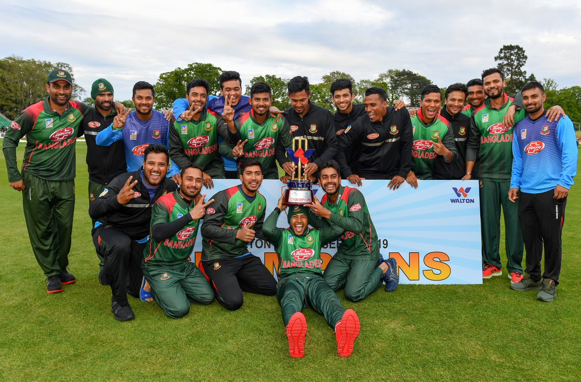BFF congratulates Tigers for winning maiden int'l trophy
