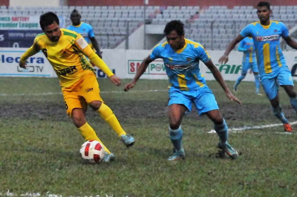 Ctg Abahoni edge Rahmatganj 1-0