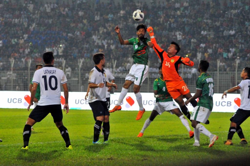 Bangabandhu Gold Cup: Bangladesh beat Laos 1-0