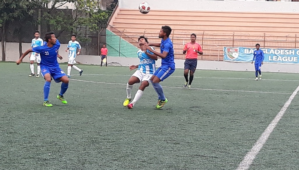 BCL: Dhaka City share point with YMC after 2-2 draw