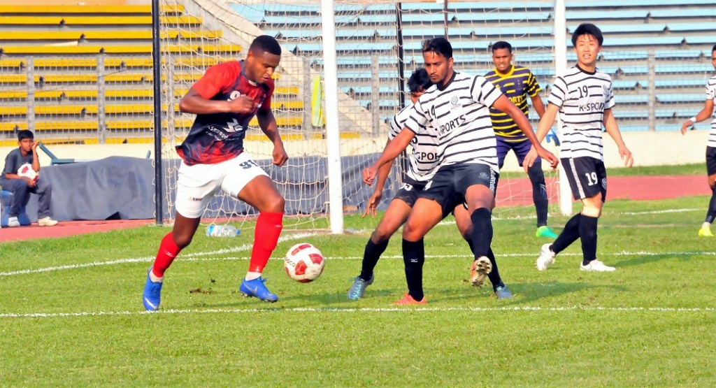 Bashundhara thrash Mohammedan 4-1