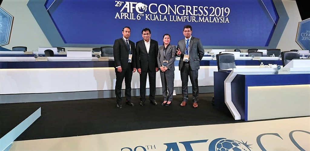 Kiron re-elected to AFC Congress for second straight term