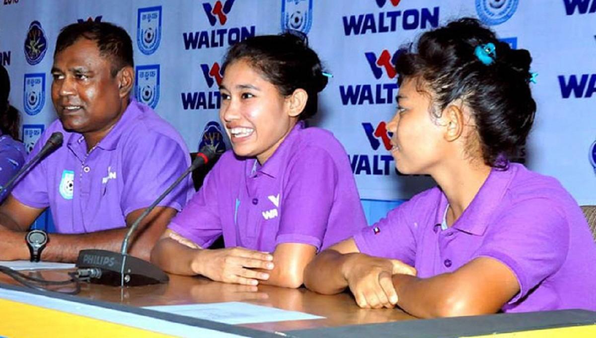 U-18 girls leave for Bhutan for SAFF championship Wednesday