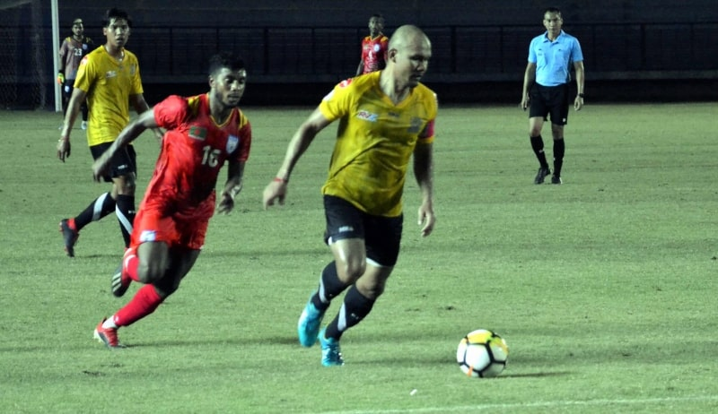 Bangladesh play out 1-1 draw with Air Force United FC