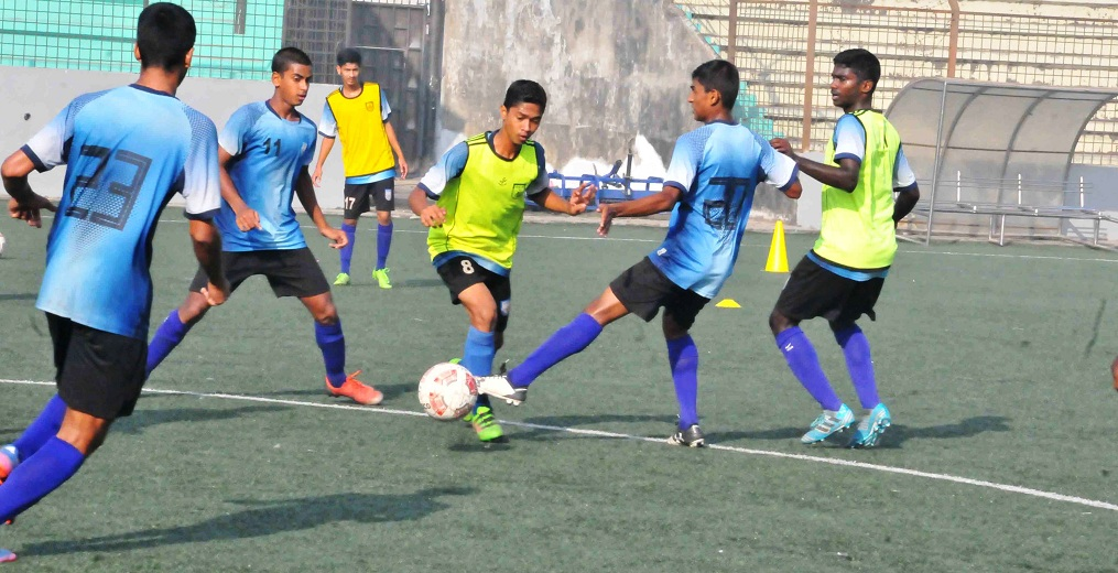 U15 boys prepare for UEFA friendly tournament