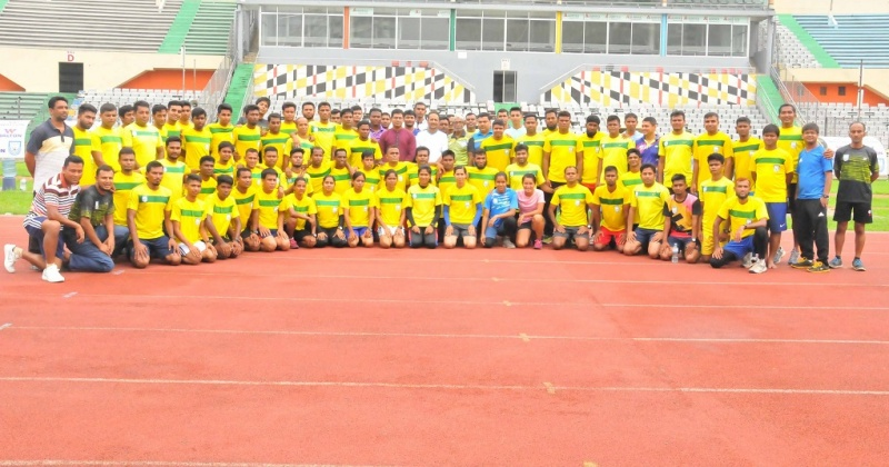 Second Quarterly Fitness Test of referees held
