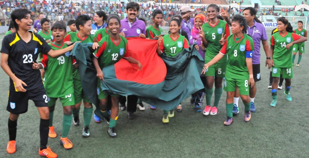 U16 girls beat Vietnam 2-0, confirm ticket to second round