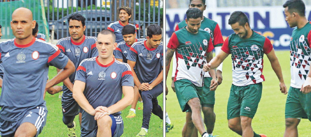 Abahani ready for Mohun Bagan challenge