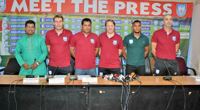 National team looking forward to S. Korea camp
