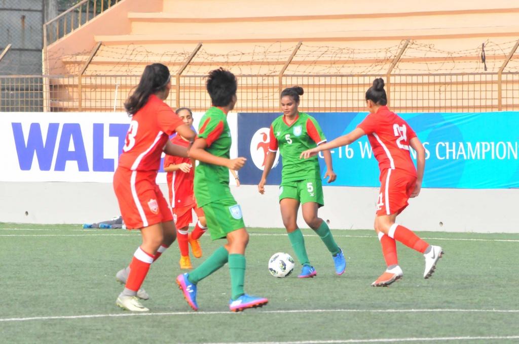 AFC U-16 Qualifiers: BD girls thrash Bahrain 10-0