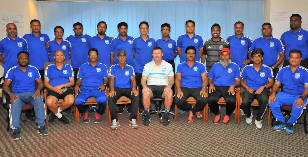 BFF AFC A Certificate Coaching Course first phase ends