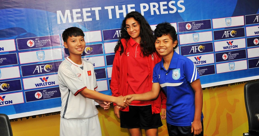 AFC U16 Women's qualifiers: Teams ready to make it to finals