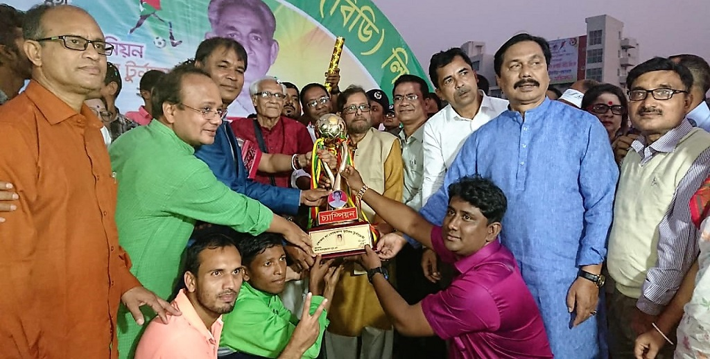 Gorgaon wins Inter-Union Gold Cup, Nilphamari