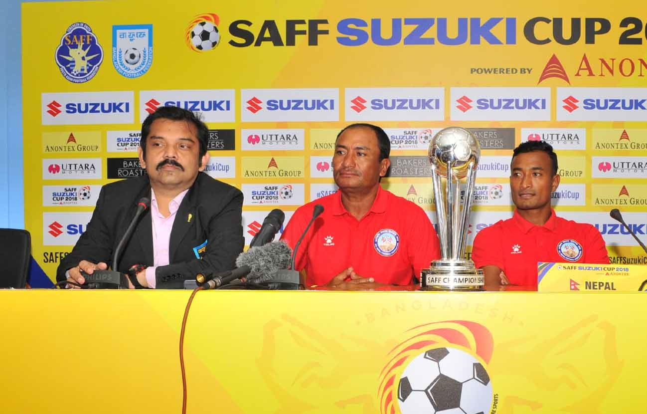 SAFF teams ready for the semis, press-conference held