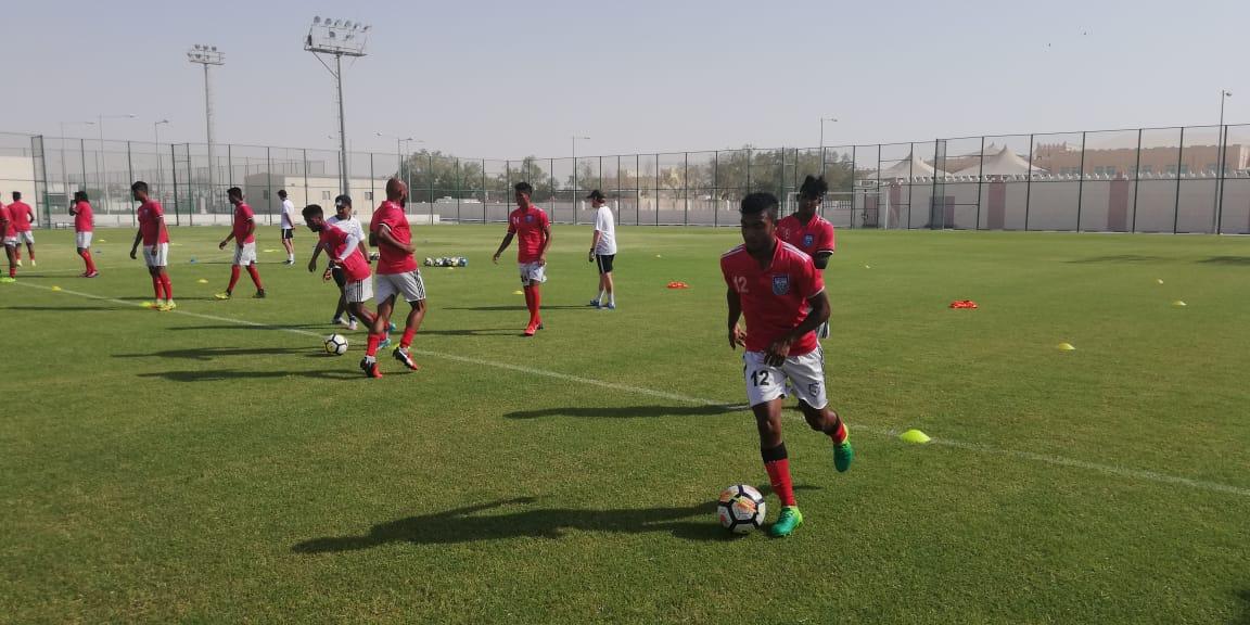 National Team undergoes intense training in Qatar