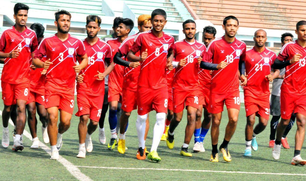 U23 camp starts at Kamalapur Stadium