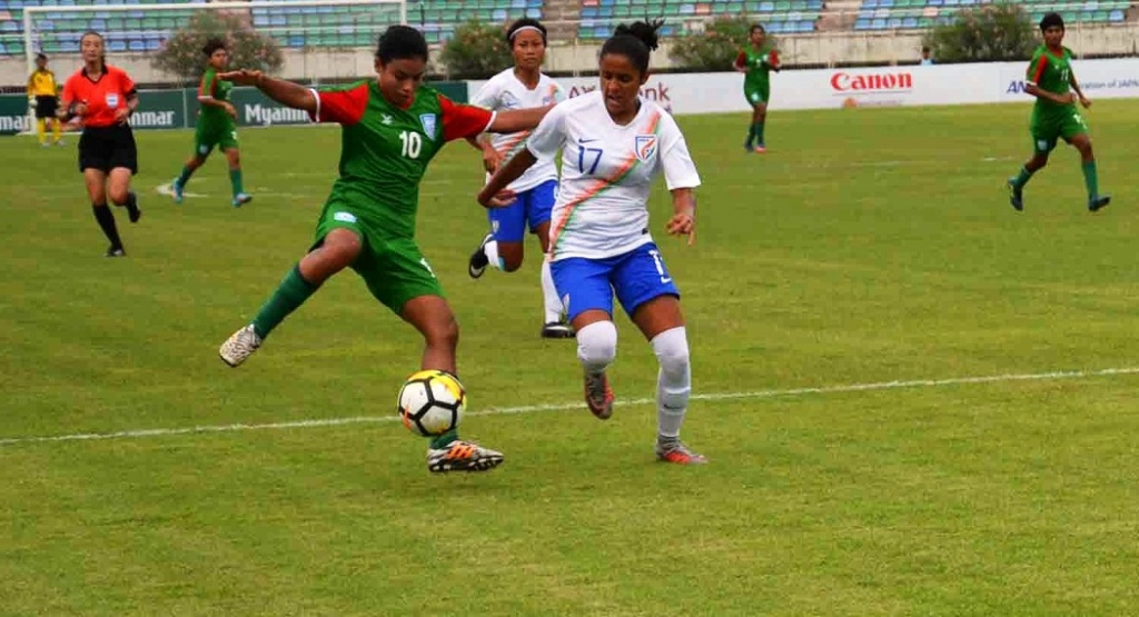 Olympic qualifiers: India too hot to handle for BD girls