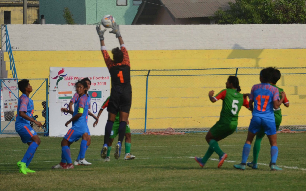 Bangladesh bow out of SAFF Women's Championship from semis