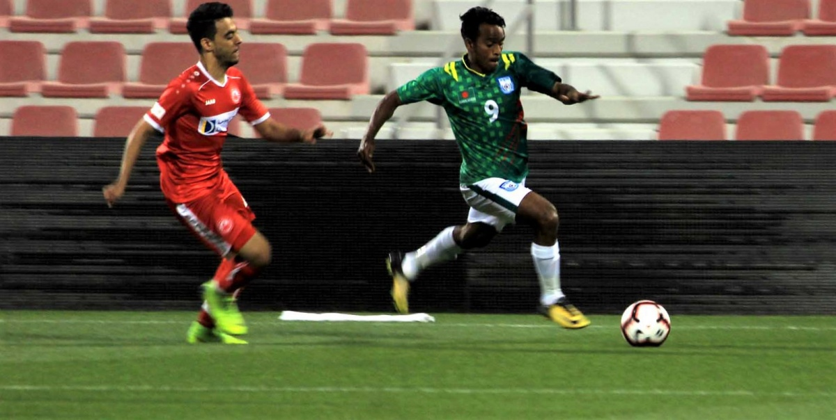 U23 boys secure draw in second practice match
