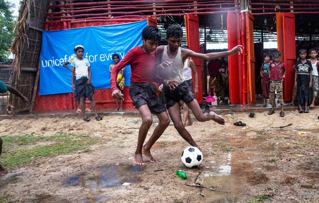 AFC, BFF to launch football training, tournament for Rohingya refugee children
