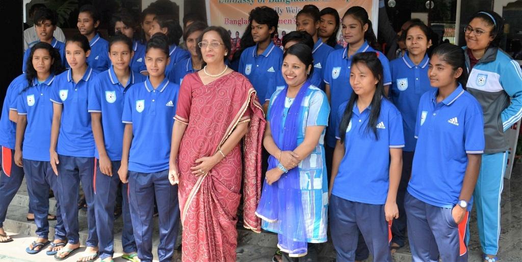 BD Ambassador to Nepal calls on women's team