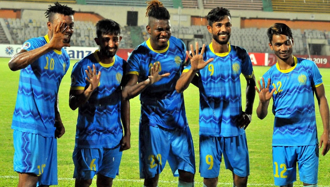 AFC Cup: Abahani thrash Manang 5-0