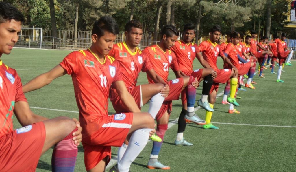 AFC U19 qualifiers: BD pumped to fight against Uzbekistan