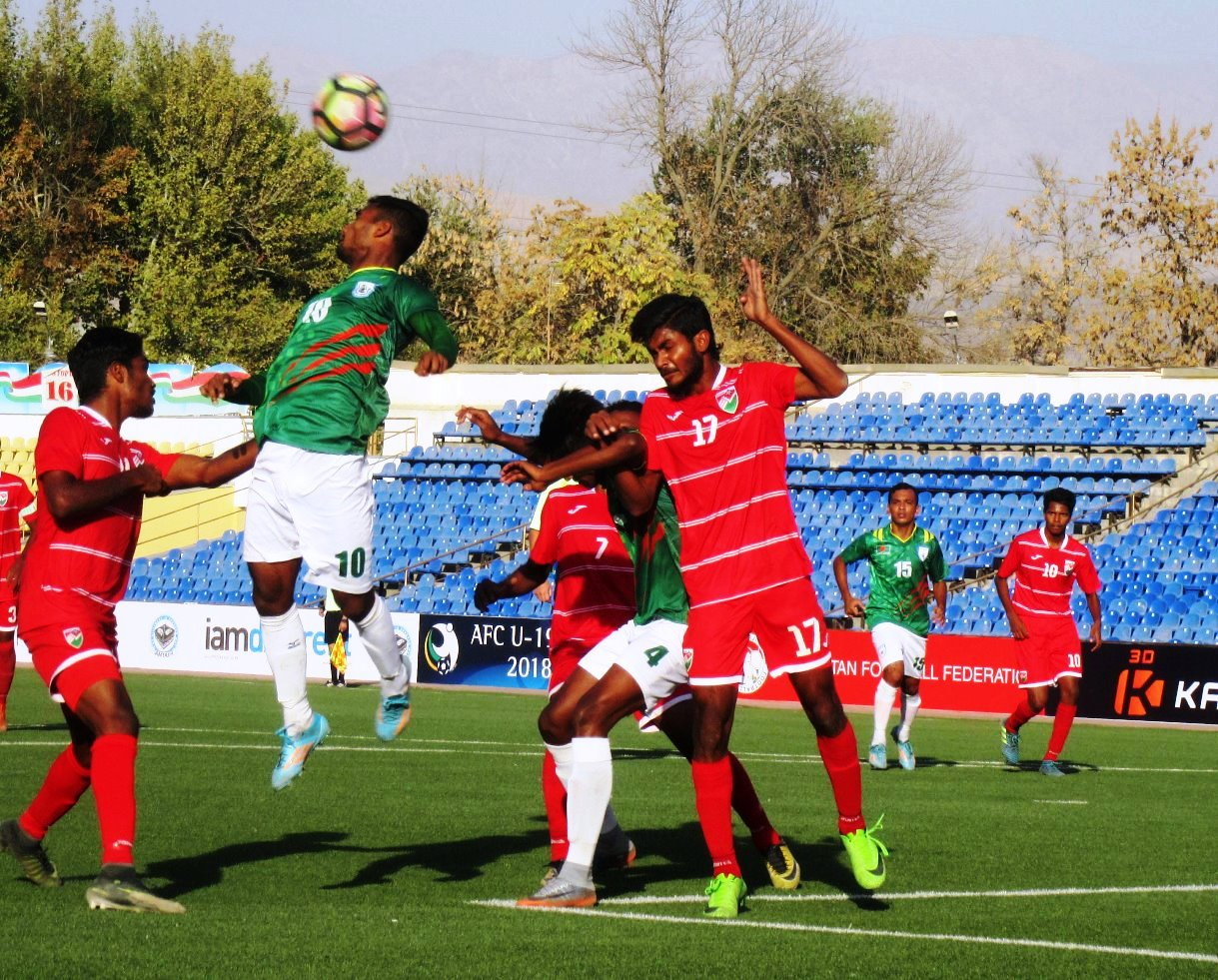Bangladesh beat Maldives 1-0 in AFC Championship Qualifiers