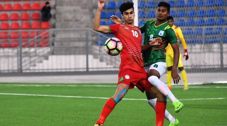 Bangladesh hold hosts Tajikistan in AFC U-19 Championship Qualifiers