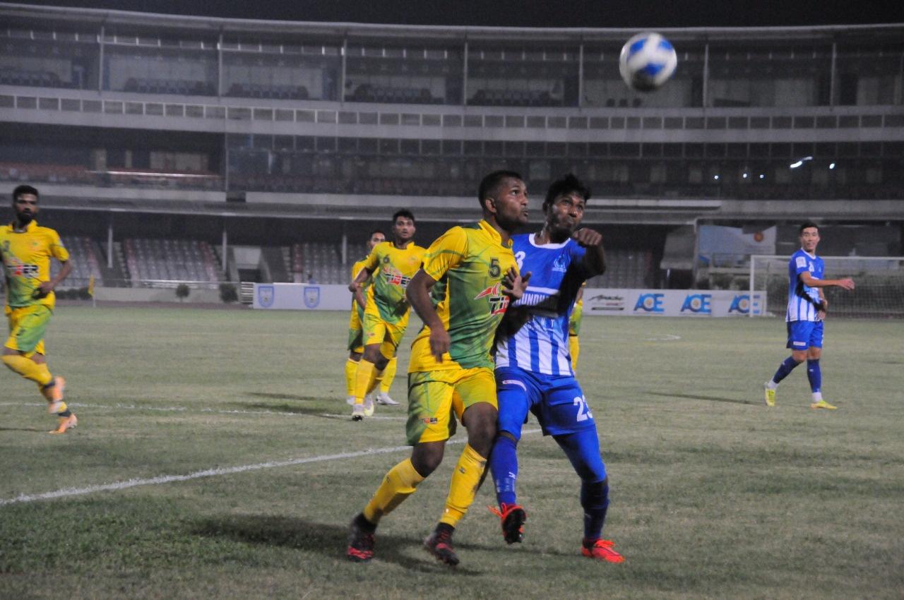 Sheikh Russell KC defeated Rahmatganj MFS by 3 goals