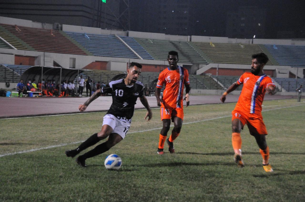 Bashundhara Kings wins by 2 goals again Bangladesh Police FC