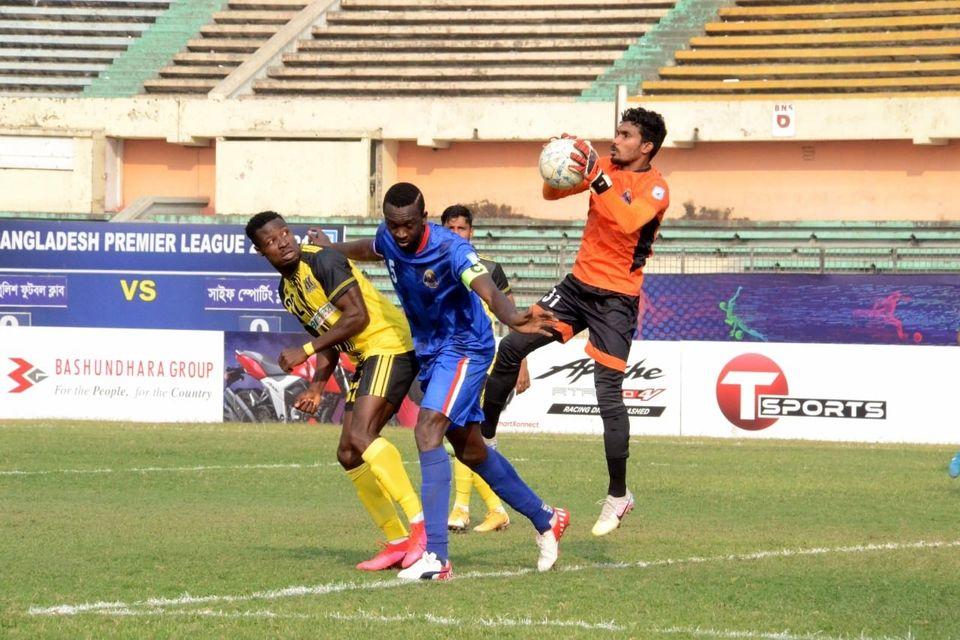 Saif Sporting Club Ltd. defeated Bangladesh Police F