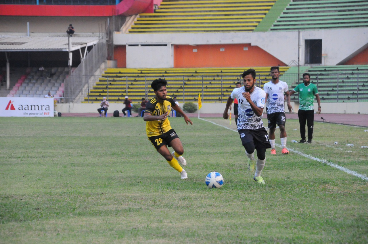 Mohammedan SC defeated Saif Sporting Club Ltd. by 2-1 goals