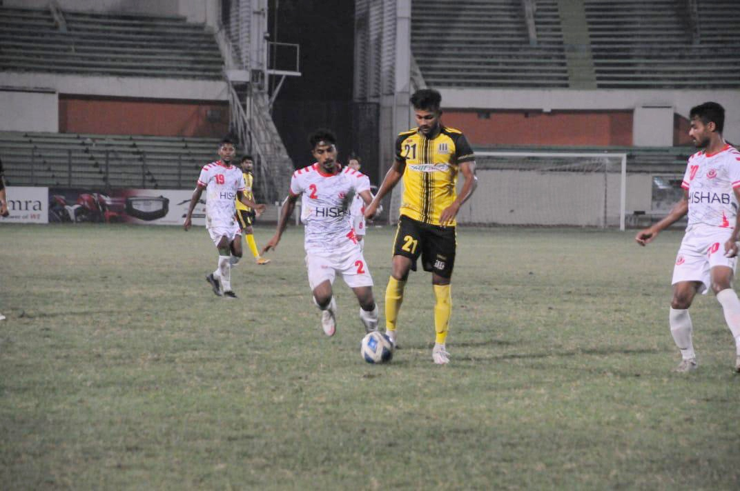 Saif Sporting Club Ltd. defeated Bangladesh Muktijoddha SKC by 4-1 goals