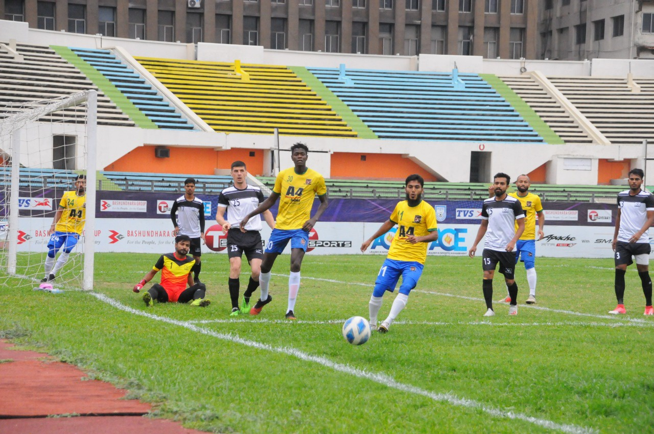 , Arambagh Krira Shangha defeated Lt. Sheikh Jamal DC Ltd. by 3-1 goals