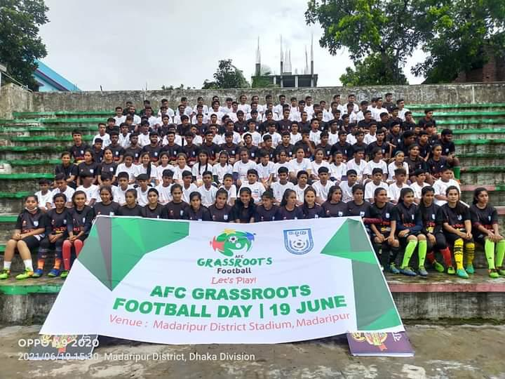 BFF celebrates AFC Grassroots Day 2021