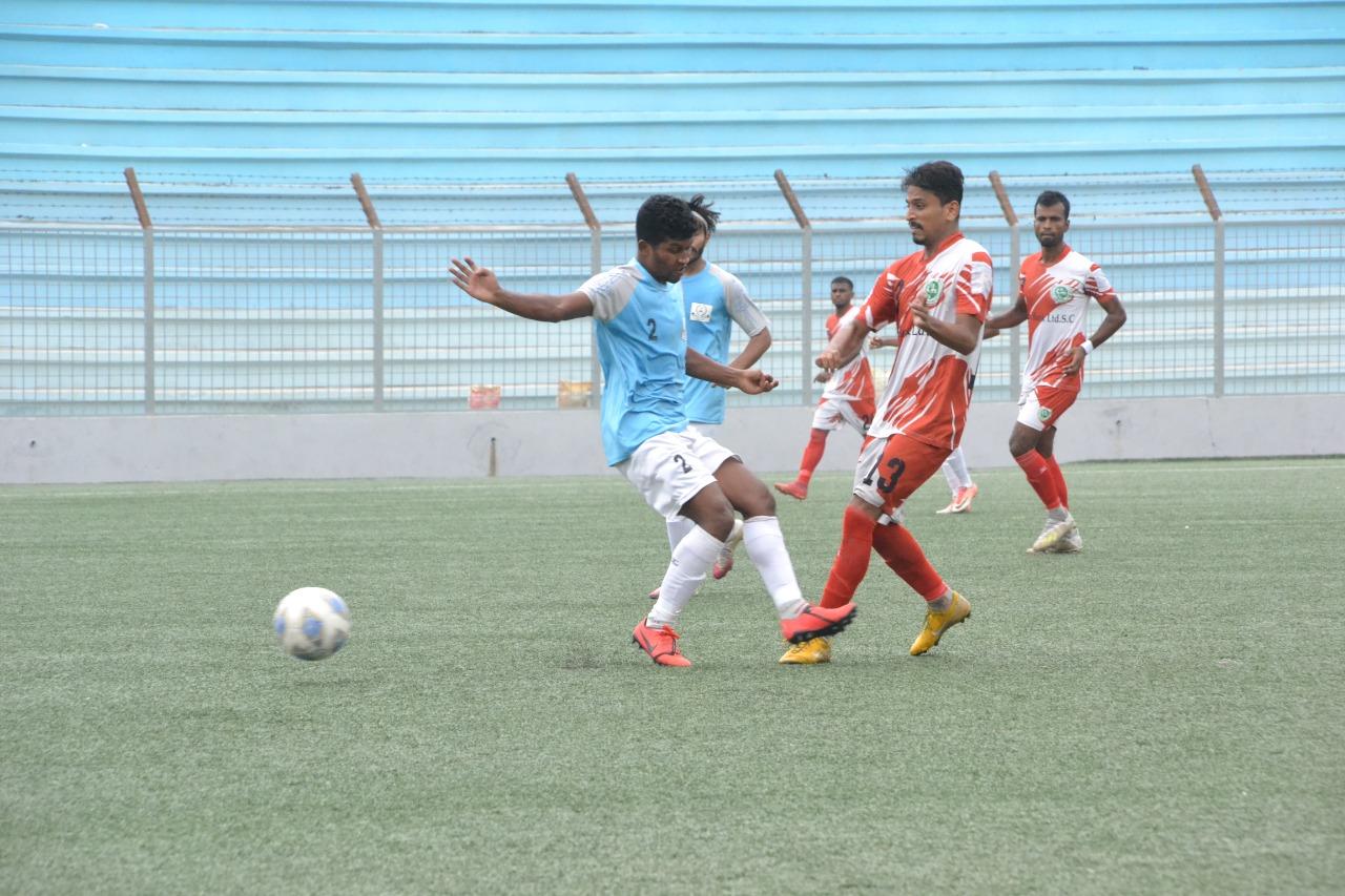 Agrani Bank Ltd. Sports Club defeated Farashganj Sporting Club by 2-1 goals