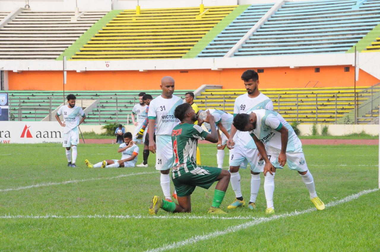 Kawran Bazar Pragati Sangha defeated Victoria Sporting Club by 5-0 goals