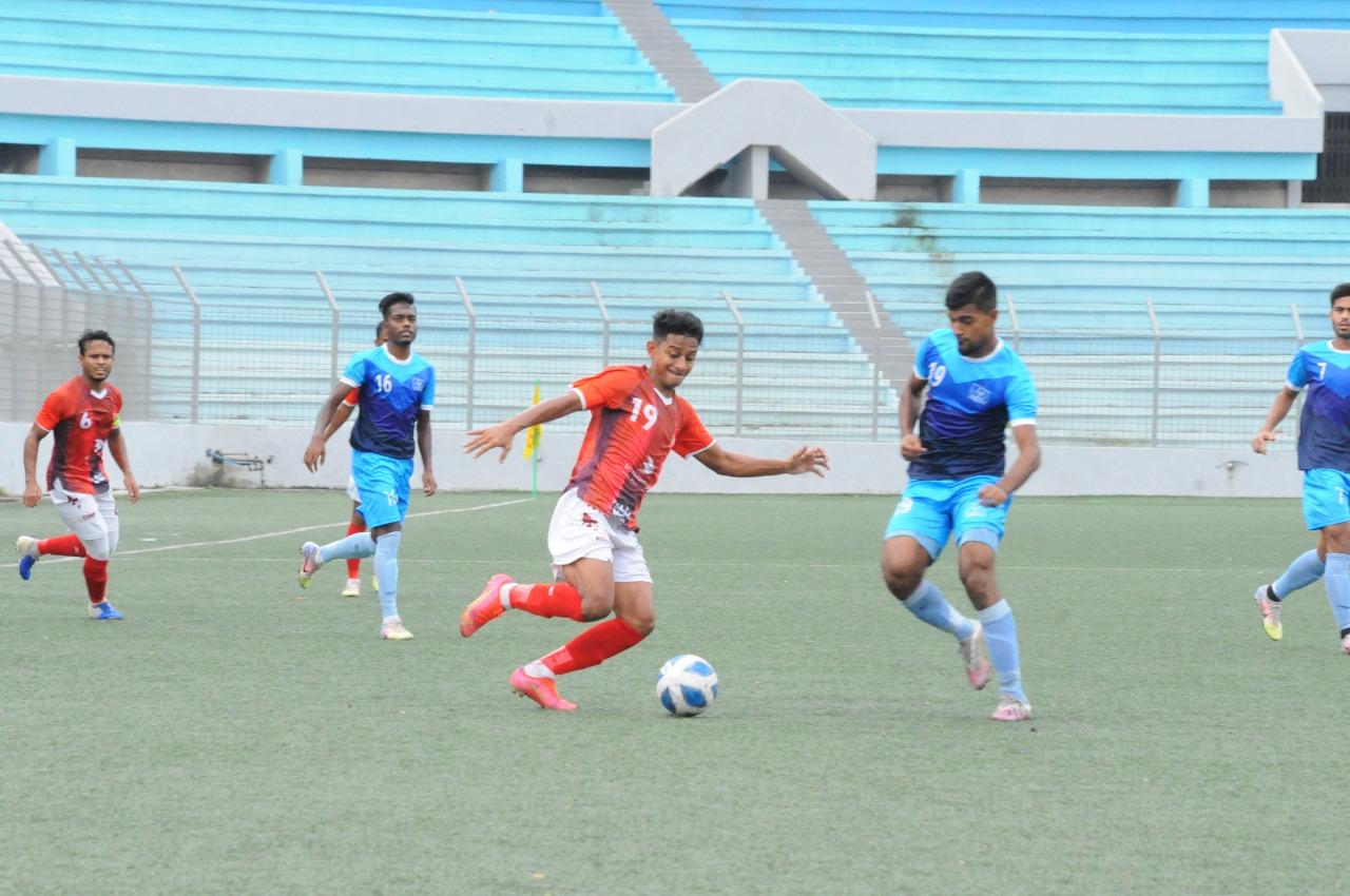Bashundhara Kings defeated Arambagh Krira Shangha by 1-0 goal in the match