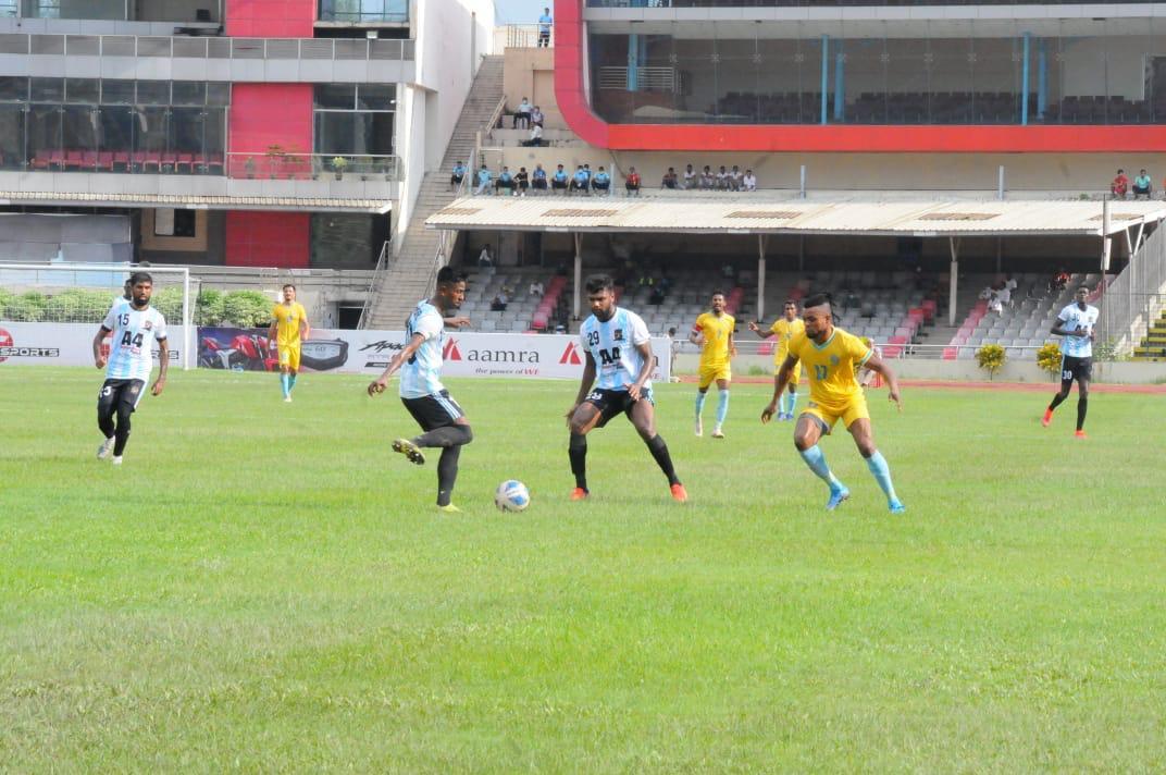 Lt. Sheikh Jamal DC Ltd. and Abahani Ltd., Dhaka draws the match