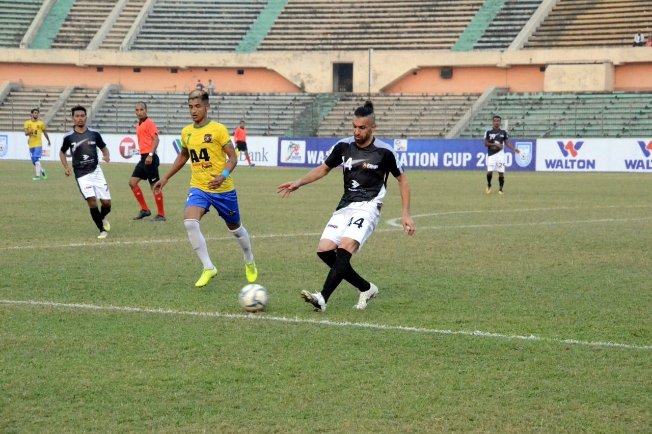 Bashundhara Kings Dominated Sheikh Jamal DC