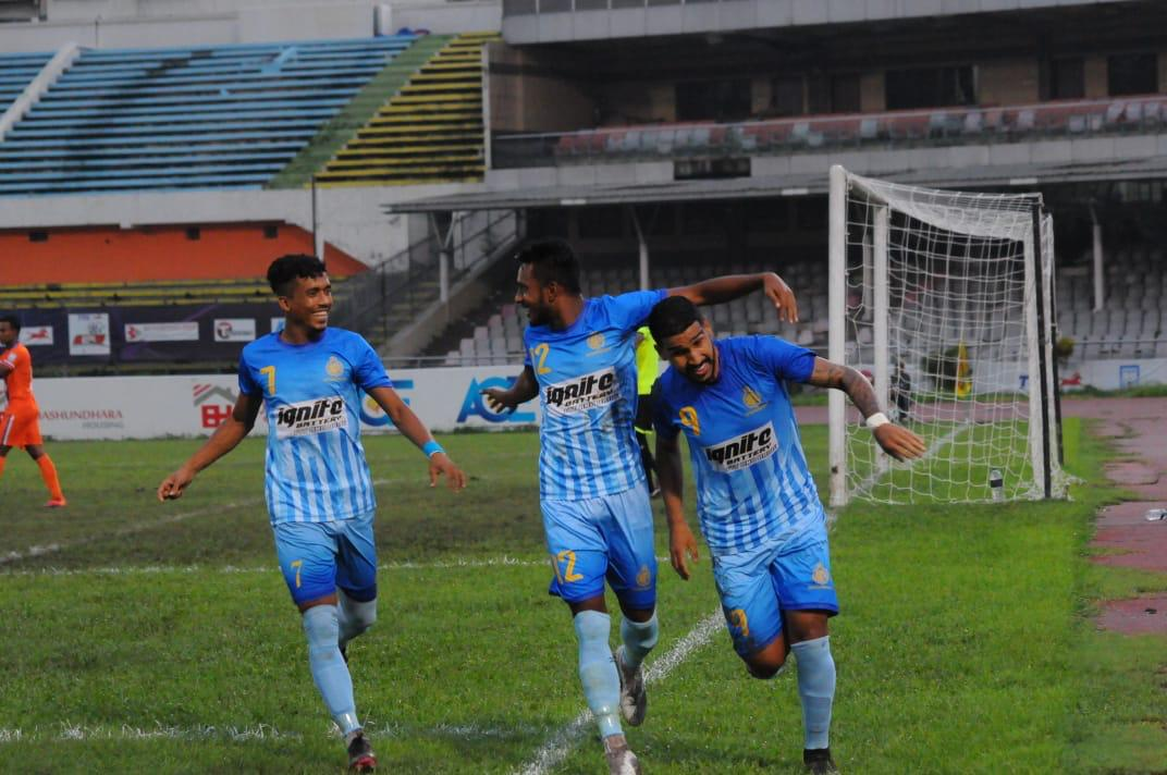 Chittagong Abahani Ltd. defeated Bangladesh Police FC by 4-1 goals