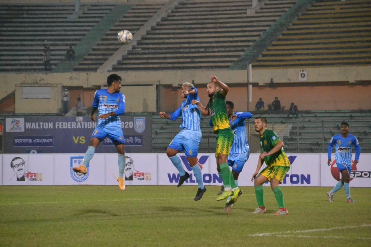 Chittagong Abahani Ltd. beats Rahmatganj MFS