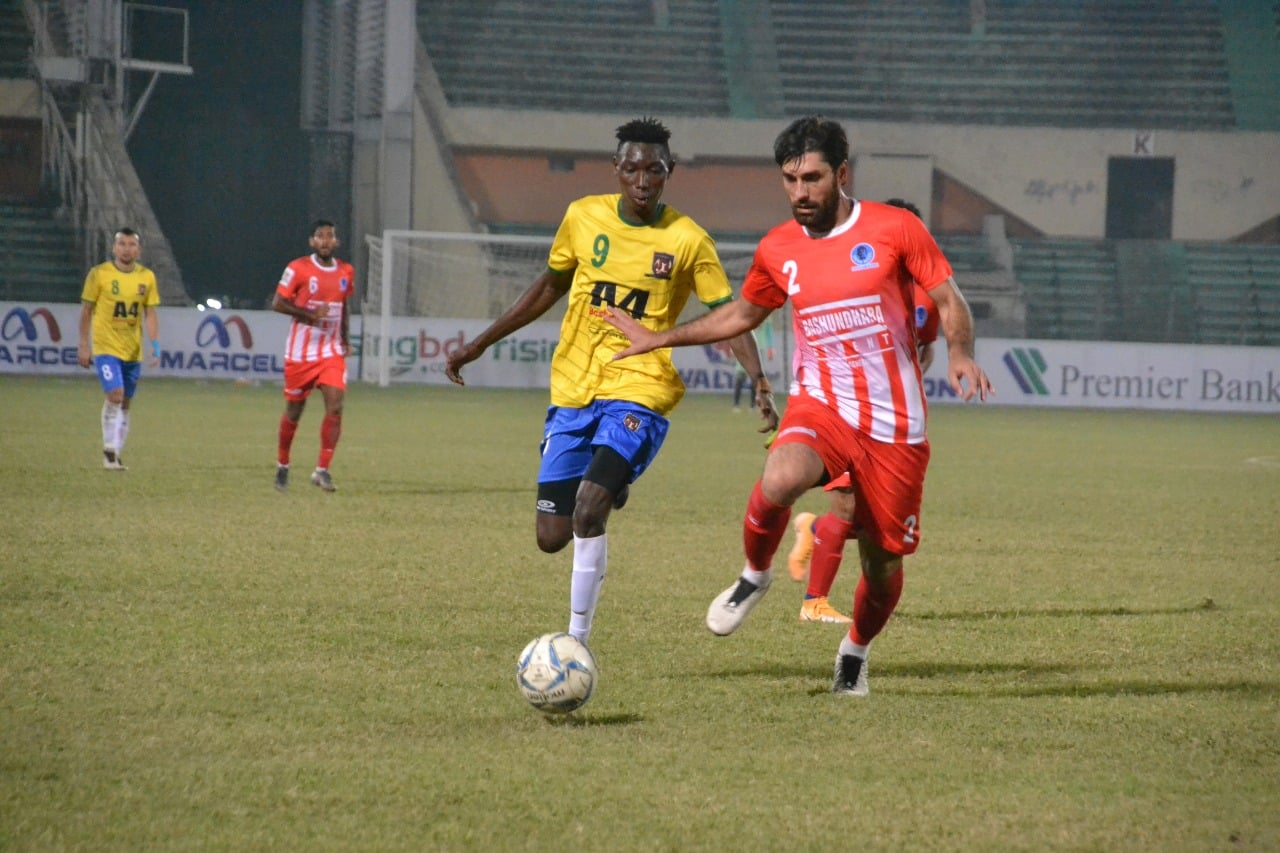 Sheikh Russel Krira Chakra Limited wins by 3 goals