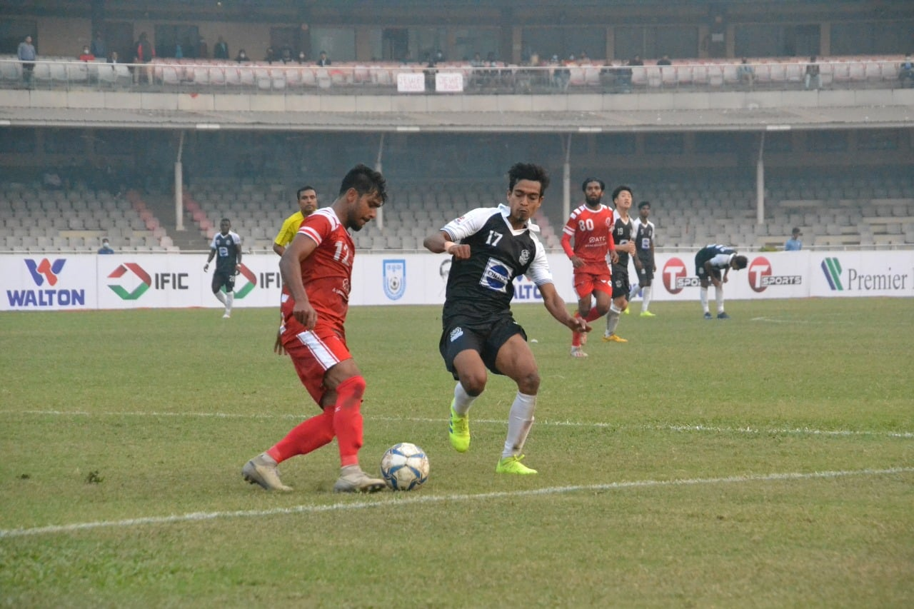 Mohammedan Sporting Club wins by 4 goals