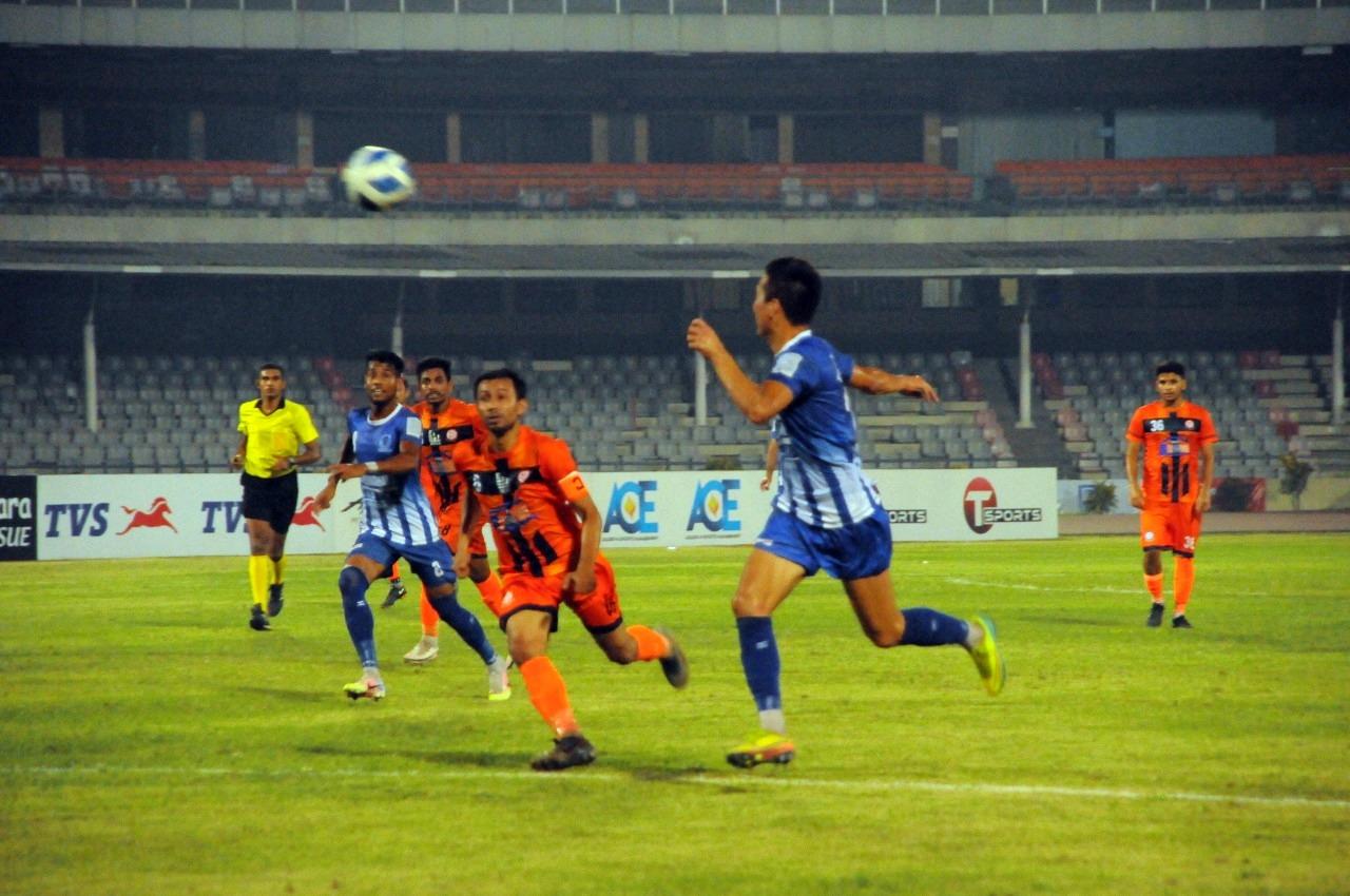 Sheikh Rasel KC wins the match by 1 goal