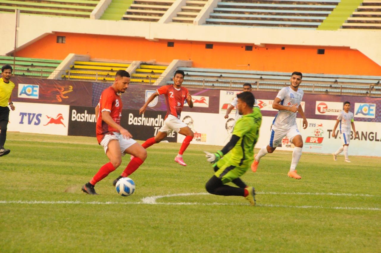 Bashundhara Kings kick starts the 2nd leg with victory