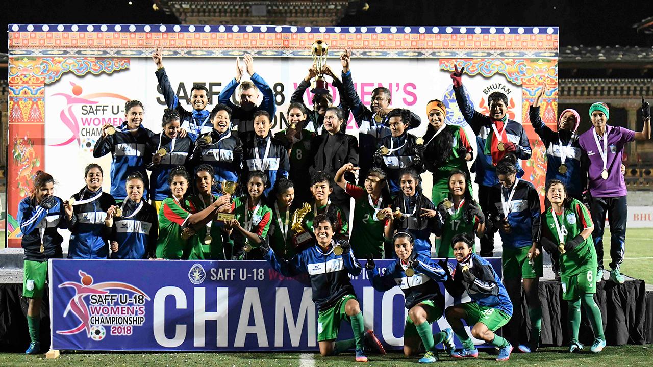 Bangladesh: Saff U-18 Women's Champion