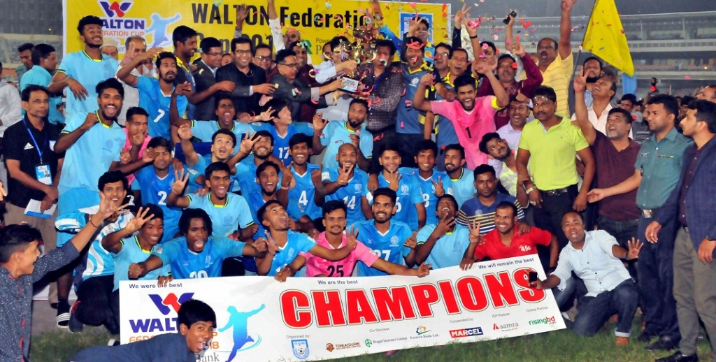 Abahani complete Federation Cup title hattrick